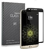 Rioto LG G5 Vetro Temperato Proteggi Schermo,Rioto 3D Curvo Bordo Tempered Glass Screen Protector Film 9H Durezza Invisibile Anti graffi Protezione Protettore Glass Pellicola Protettiva(Vetro Temperato)