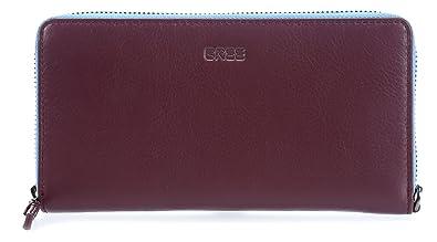 Bree 367430131, Porte-monnaie mixte adulte Blau (Ombre Blue) 10x2x19.5 cm (B x H x T)
