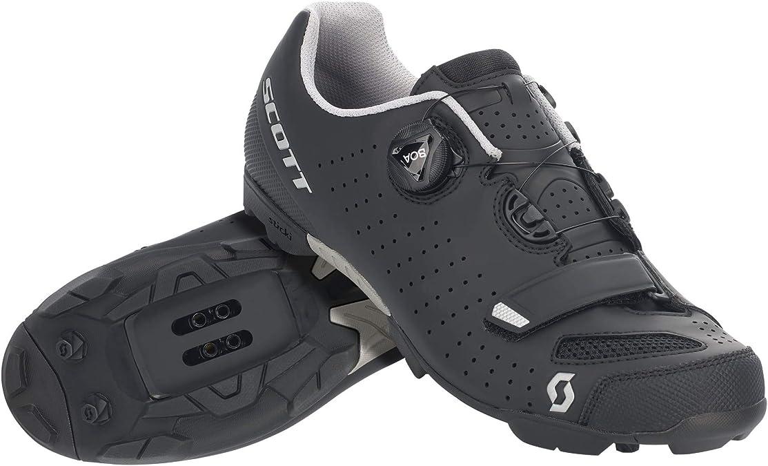 Scott MTB Comp Boa 2020 - Zapatillas de ciclismo, color negro y plateado: Amazon.es: Zapatos y complementos