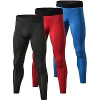 Yuerlian Men's Compression Pants Cool Dry Baselayer Tights Leggings