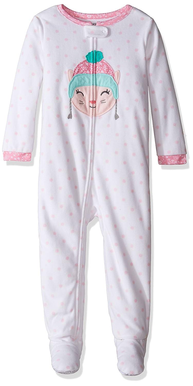 f1f03e48ddbe Carter s Baby Girls  1 Piece Fleece Sleepwear