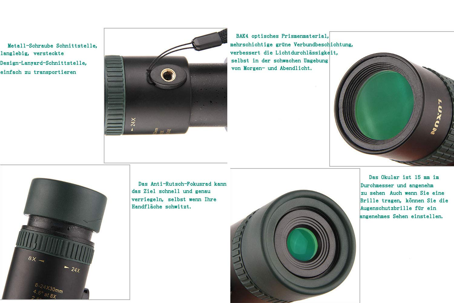 Monokular teleskop mm zoom scope mit amazon kamera