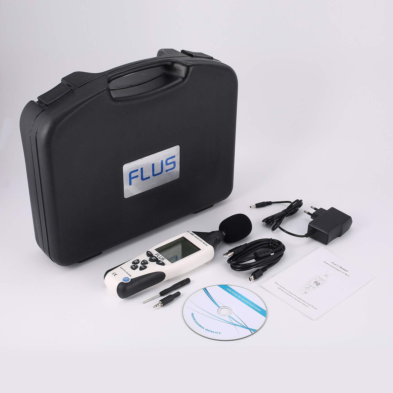ULF ET-958 Sonom/ètre num/érique testeur de bruit D/écibel Mesure Logger
