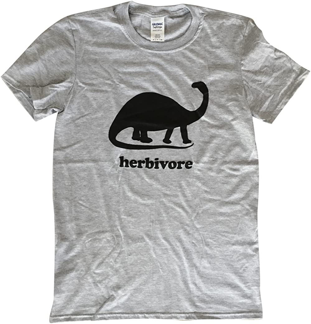 The Bold Banana Men's Herbivore Dinosaur T-Shirt