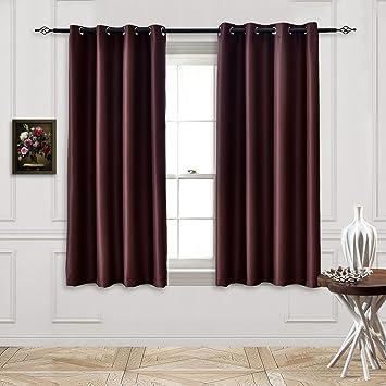 Amazon Com Toyabr 1 Panel Polyester Fabric Room Darkening Window