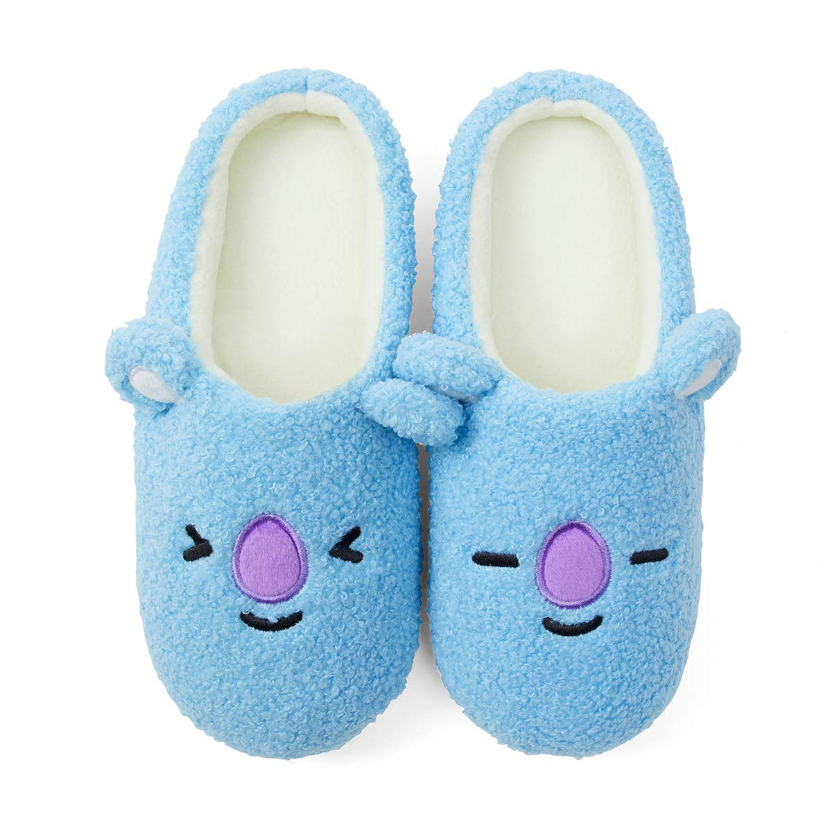 BT21 Official Merchandise by Line Friends Character Ppolgeul Slipper