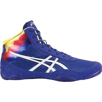 Asics Wrestling shoes Elite Mens Blue White Jb V2 0 Flame True