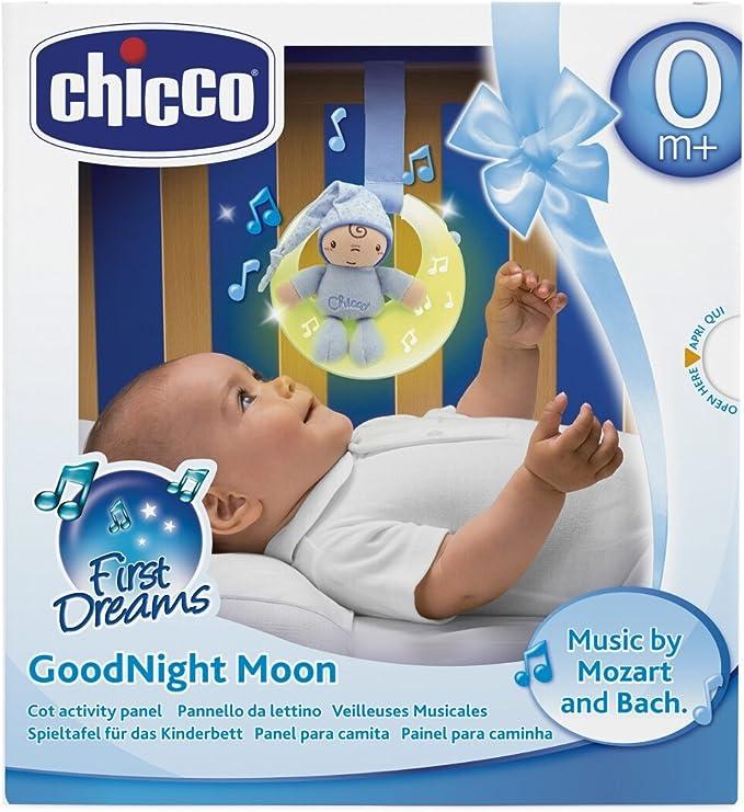 Chicco - Luces musicales buenas noches, panel de cuna con luces y ...