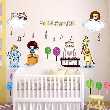 Wandtattoos Wandbilderwandaufkleber Zeichnen Kindergarten