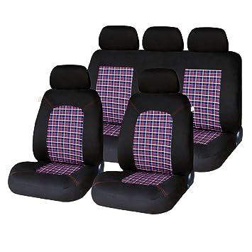 SKODA FABIA 1.6 TDI 07- PREMIUM FULL SET LEATHER LOOK SEAT COVERS
