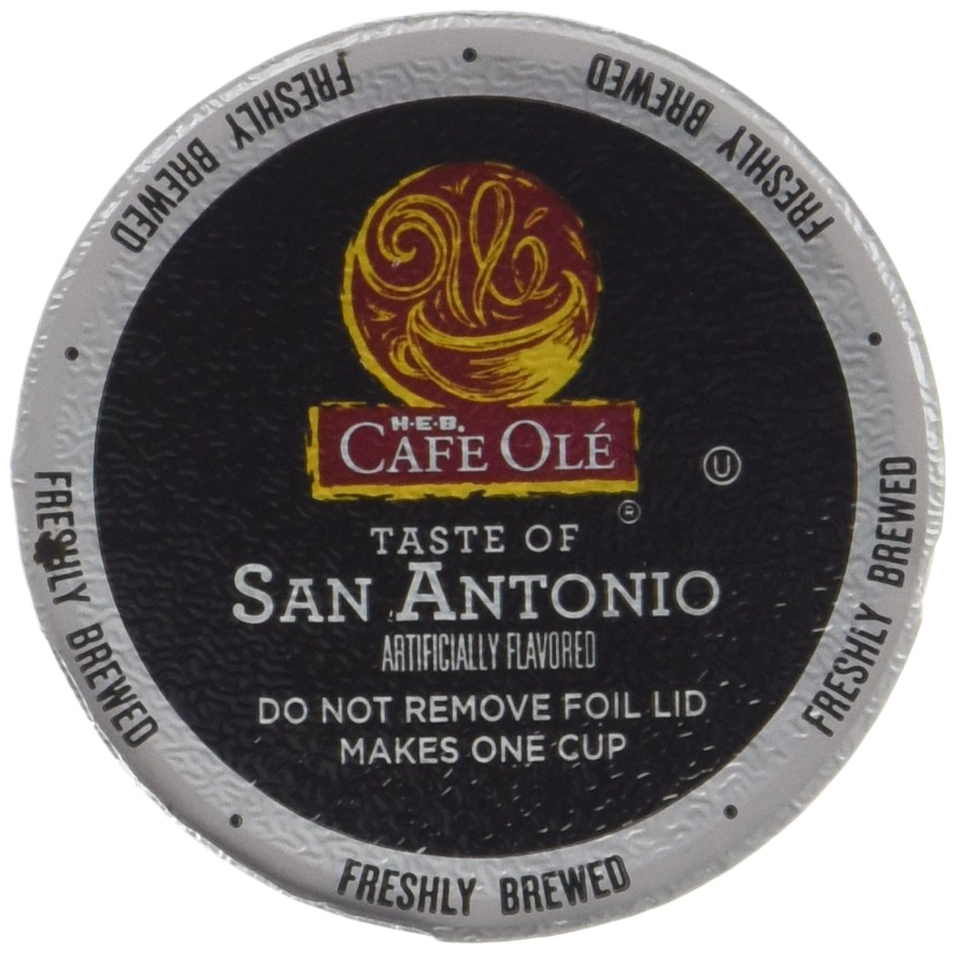 Cafe Ole San Antonio Coffee K Cups