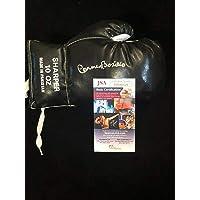 $81 » Carmen Basilio USMC Marine Boxing Champ HOF Rare Signed Autograph Glove JSA - Autographed Boxing Gloves