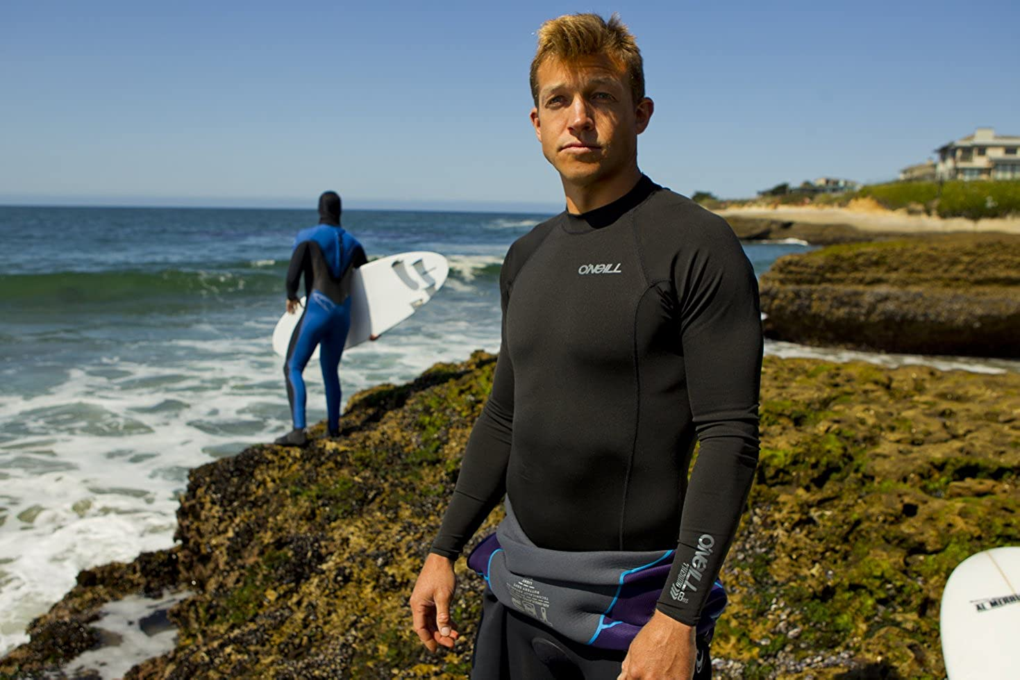 O'Neill Men's Thermo X Long Sleeve Insulative Top: Clothing