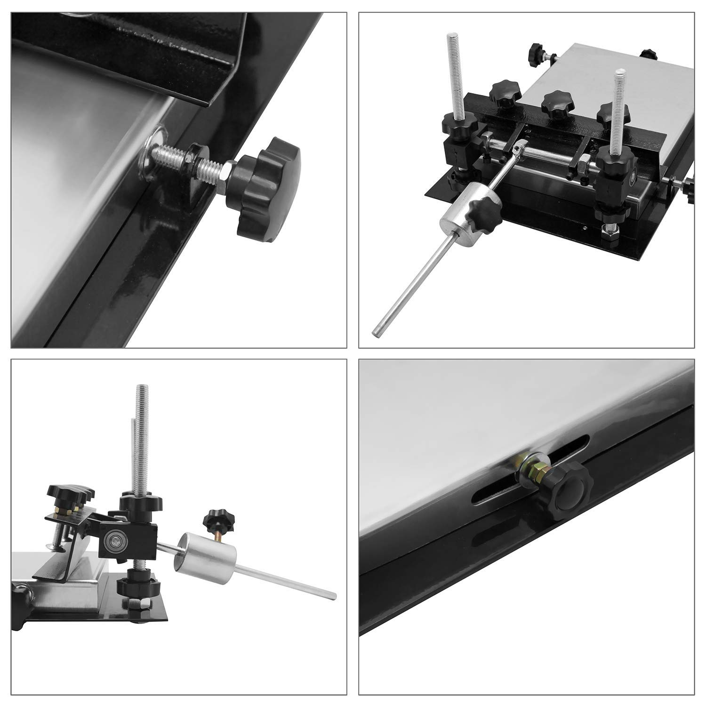CGOLDENWALL Automatic SMT/SMD Screen PCB Stencil Printer SMT Manual Screen  Printer Printing Area :320 220mm