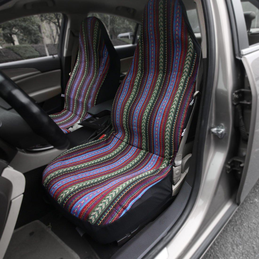 Amazon Com Copap Multi Color Baja Saddle Blanket Car Seat Cover