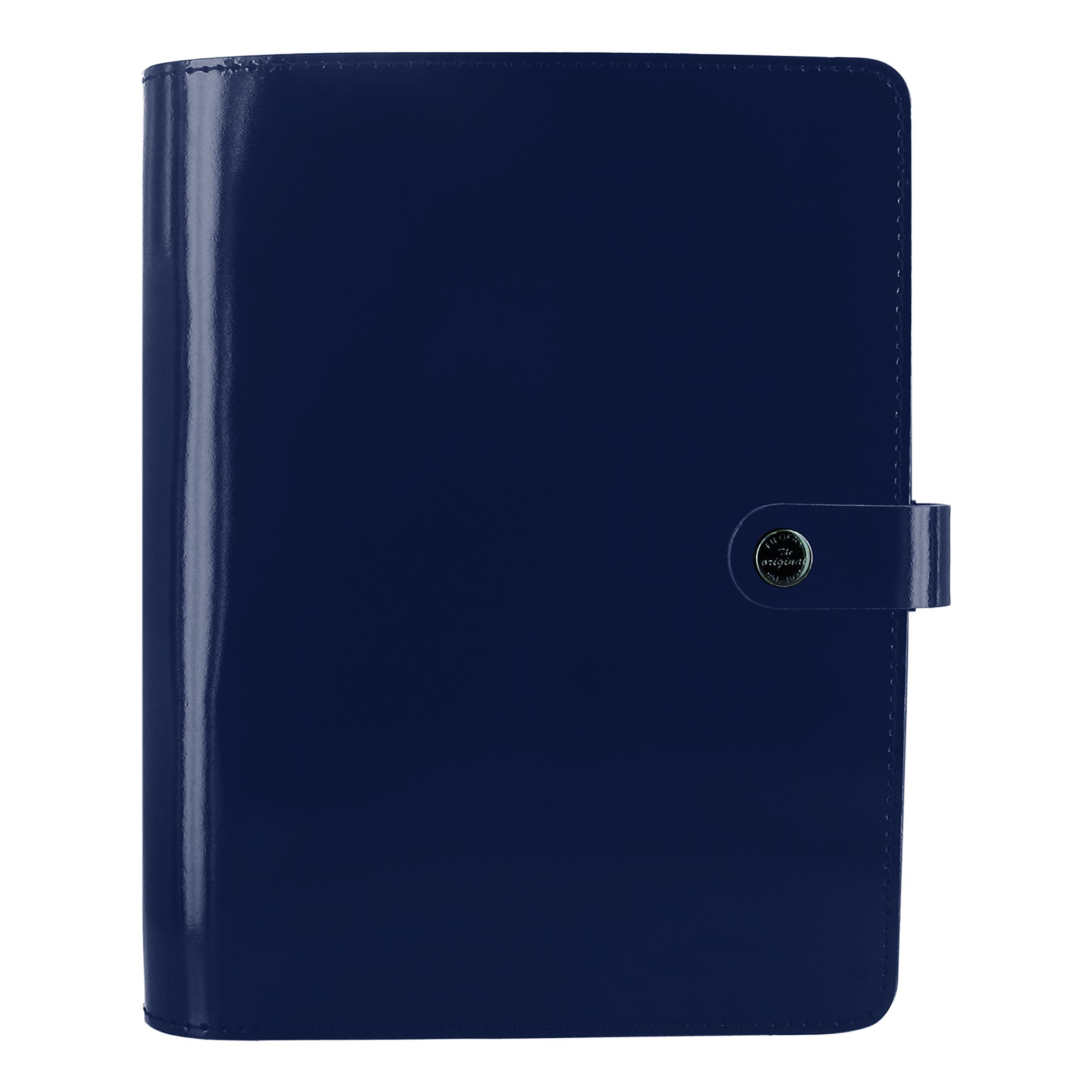 Filofax The Original Leather Organizer, Retro Navy, A5 (8.25 x 5.75) Any Year Planner with to do and contacts refills, indexes and notepaper (C022385)