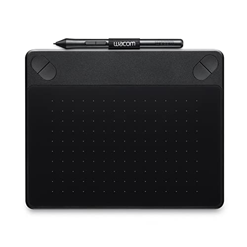 Wacom Intuos Photo Pen Tablet in Black (Size: S) / Small Graphic Tablet incl. Macphun Creative Kit, Corel PaintShop & AfterShot Software Download & Wacom Intuos Pen/Compatible with Windows & Apple