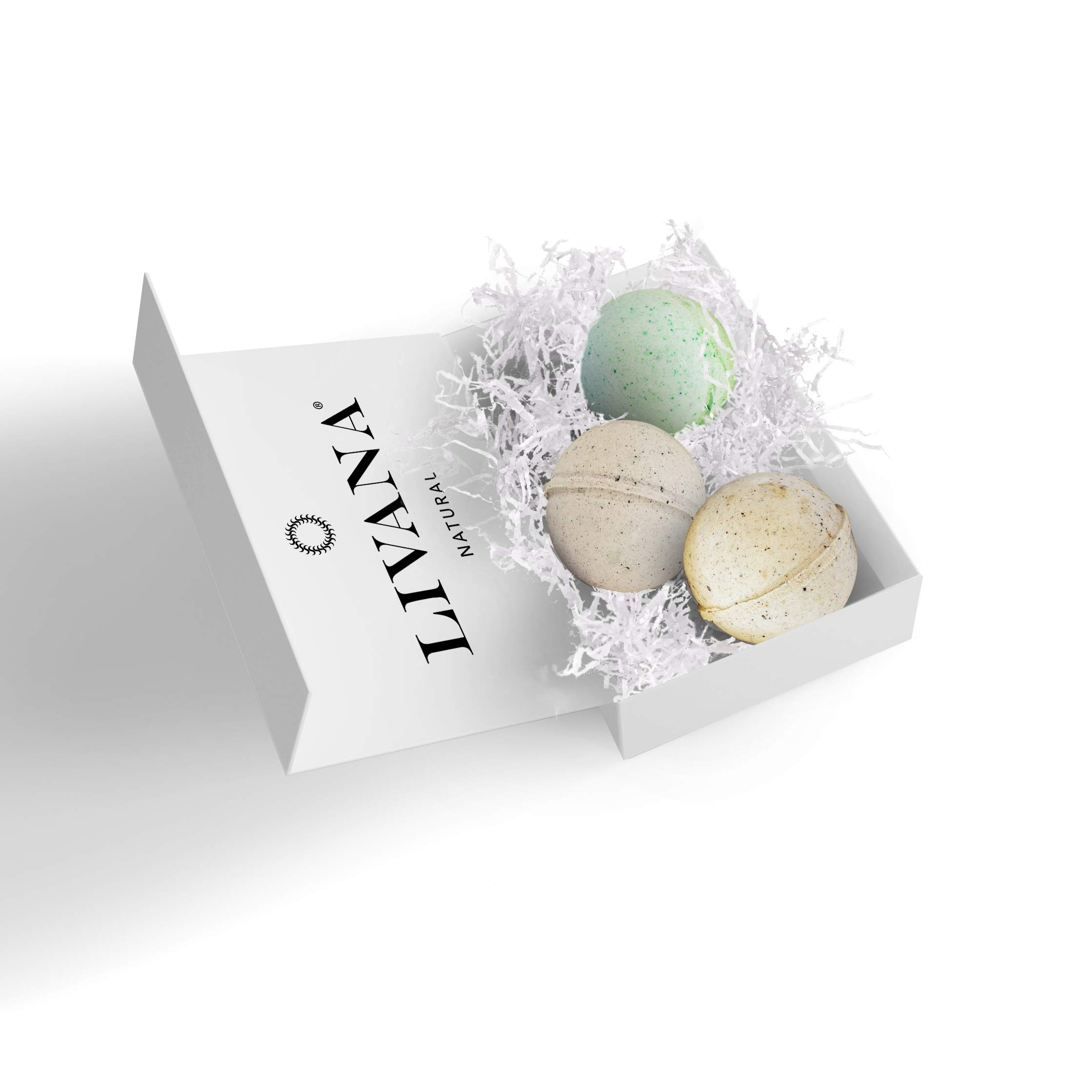Pure Health Bath Bombs Gift Set made in the USA, Moisturizes, Perfect for Bubble & Spa Bath. Handmade Birthday, Gift ideas For Her/Him, mom, wife, girlfriend