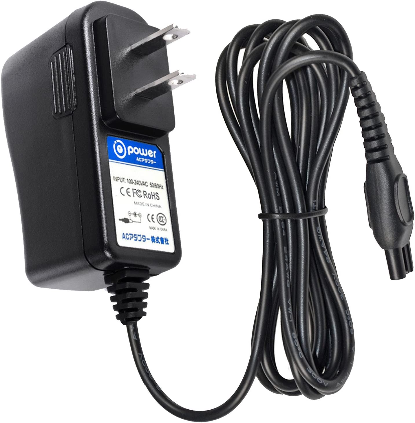 Super Power Supply® AC Charger for Philips Norelco Quadra 7616X 6891XL 7800XLCC