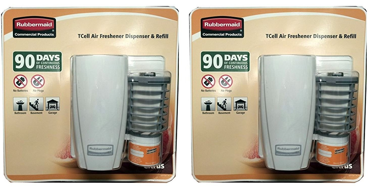 amazoncom rubbermaid commercial products tcell air freshener dispenser refill health personal care