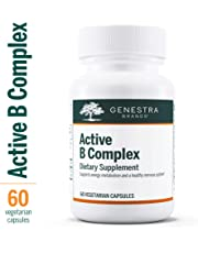 Genestra Brands - Active B Complex - Complete B Vitamin Complex to Support Energy Metabolism, Red Blood Cells and Growth - 60 Vegetable Capsules