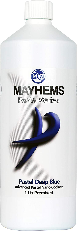Mayhems Pastel Nano Coolant Premix, 1000mL, Pastel Deep Blue