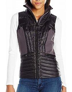 Blanc Noir Womens Mesh Inset Tunic Vest