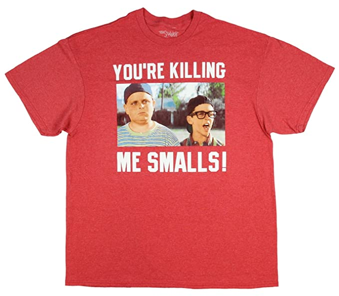 cbe80760f Image Unavailable. Image not available for. Color: Hybrid The Sandlot Men's  Ham Squints You're Killing Me Smalls Graphic T-Shirt