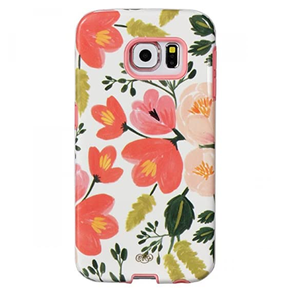 quality design fd203 ddb43 Sonix Lenntek Inlay Case for Samsung Galaxy S6 Edge - Retail Packaging -  Botanical Rose