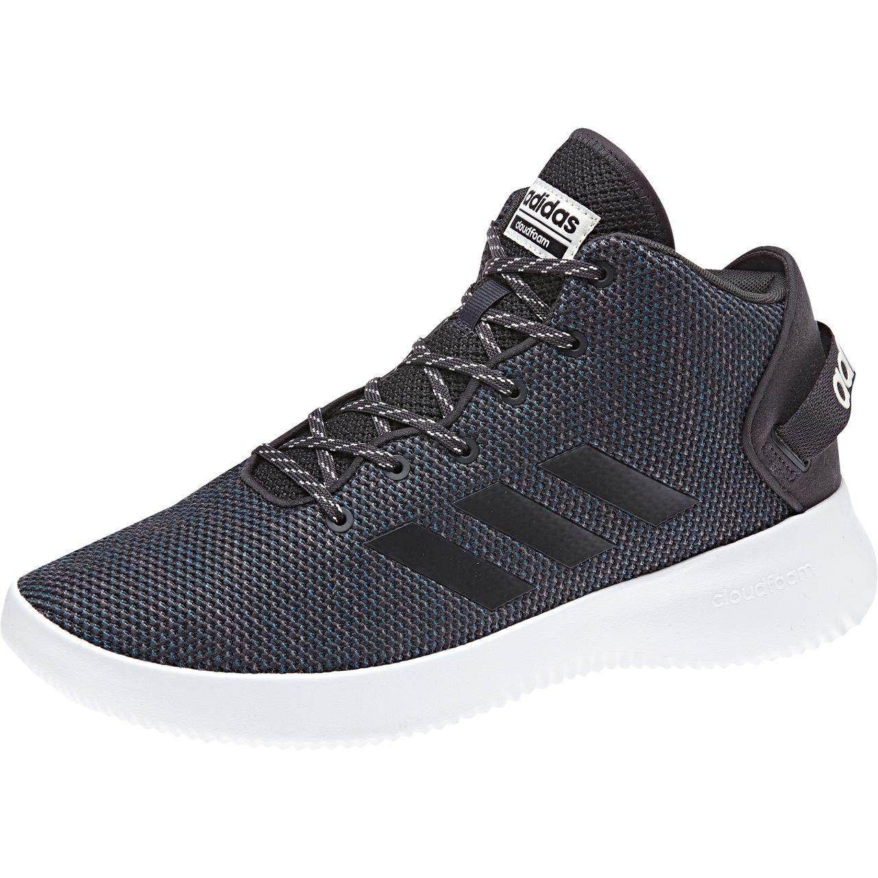 gris (Carbon Carbon Talc) adidas Cloudfoam Refresh Mid, Baskets Hautes Homme 46 2 3 EU