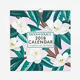 2018 Art Grid Wall Calendar