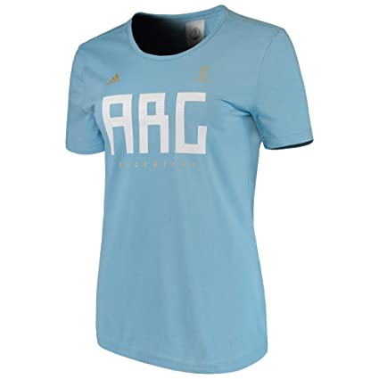 d79450094 Amazon.com  adidas Women s Soccer Argentina Tee  Sports   Outdoors
