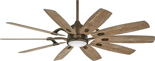 65 Minka Aire Barn Heirloom Bronze LED Ceiling Fan
