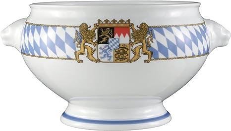 Seltmann Weiden Löwenkopfterrine Deckel 2,7 L Suppenterrine Terrine Porzellan