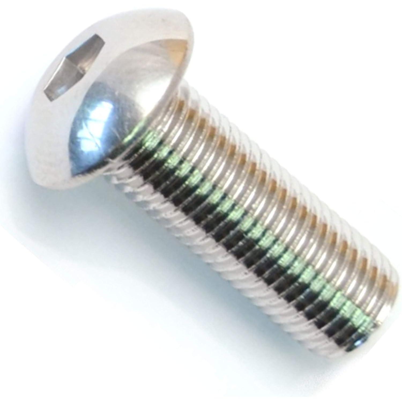Hard-to-Find Fastener 014973441623 Button Head Socket Cap Screws 3//8-24 x 1 Piece-5 Midwest Fastener Corp