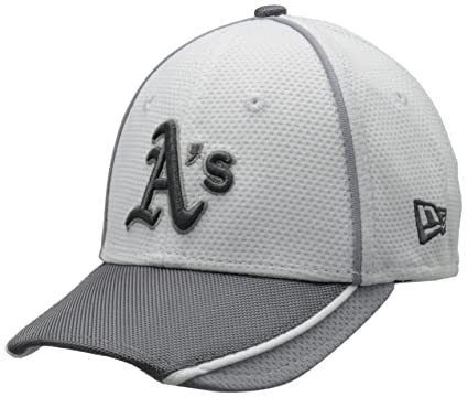 8768f4313ad Buy MLB Oakland Athletics Junior NE Abrasion Plus 39Thirty Stretch Fit Cap