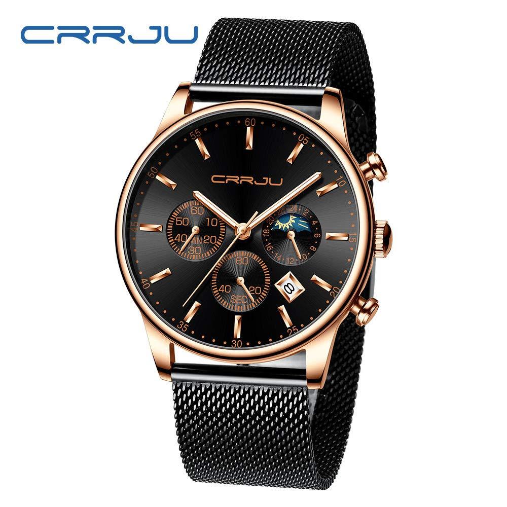 LUXISDE Women's Wrist Watches ABC Men's Watches Luxury Top Brand Quartz Chronograph Watch Fashion Sports 70 E by LUXISDE (Image #2)