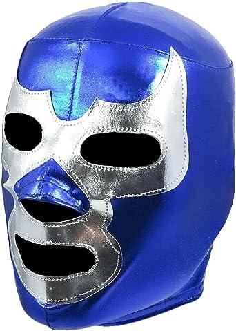 REY BLUE Kid Mask Mexican Wrestling Mask Lucha Libre Luchador Costume Wrestlin