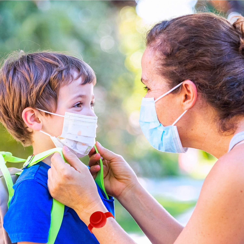 Milindio Maskenbox f/ür Mundschutz im Set Perfekt f/ür Unterwegs Schule B/üro Aufbewahrungsbox f/ür Masken Maskenboxen ideal zur Aufbewahrung von Masken zur Vermeidung von Maskenverschmutzung