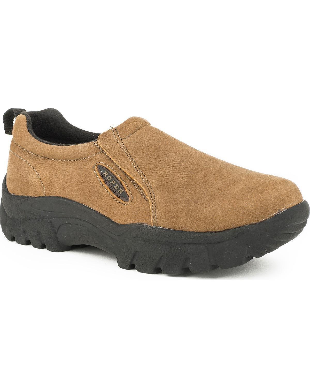 Roper Women's Performance Casual Leather Loafers - 09-021-0601-9440 Ta B010REB78M 5.5 B(M) US|Tan