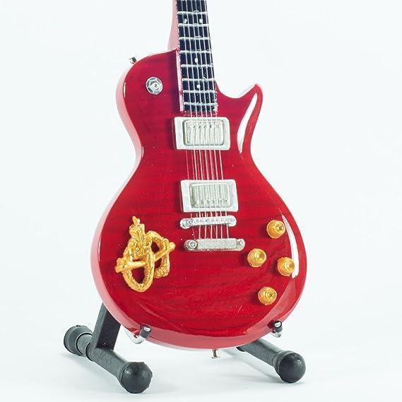 Mini guitarra de colección - Replica mini guitar - Snakepit ...