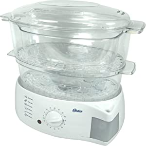 Oster 5711 Cooker & Steamer - 900W - 5.78L - White