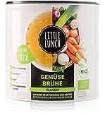 "Little Lunch Bio Brühe |""Gemüsebrühe Klassik"" | Ohne Zucker & Hefe | 420g | Vegan | Ohne Geschmacksverstärker"