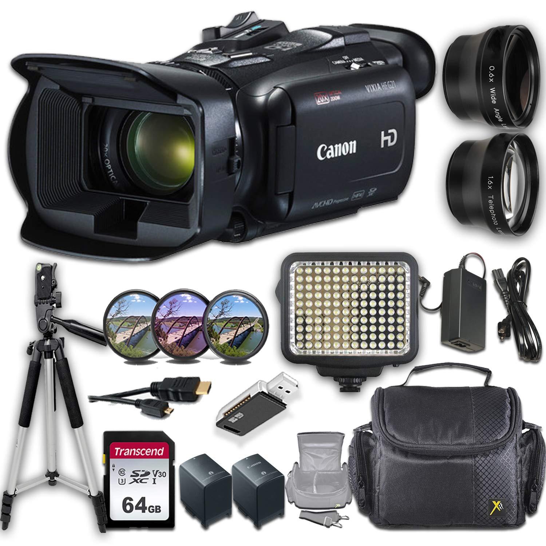 Canon VIXIA HF G21 Camcorder + 9-Piece Professional Accessory Bundle by Canon