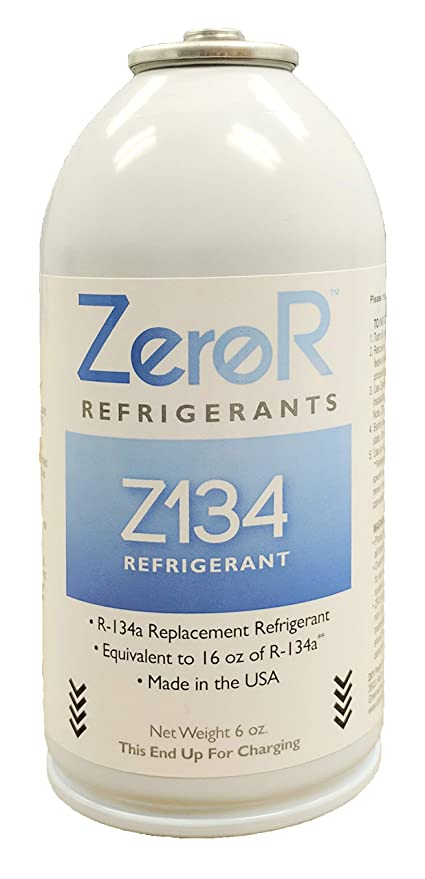 Amazon Zeror Z134 Refrigerant R134a Replacement 1 Can
