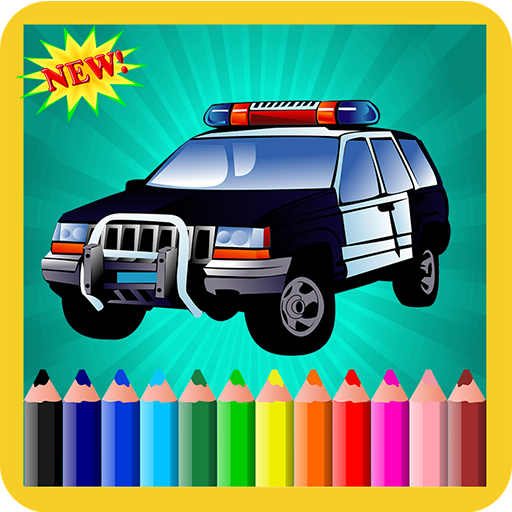 Coloring Cars For Boys