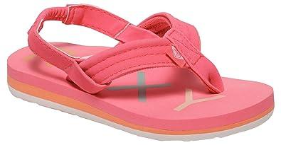 Roxy TW Vista K, Tongs Fille, Rose (Hot Pink), 24 EU