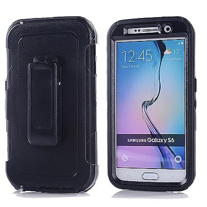 Amazon.com: Harsel - Carcasa de goma para Samsung Galaxy S6 ...
