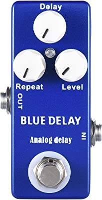 Mosky Blue Delay Pedal