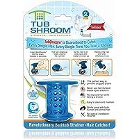 TubShroom TSBLU454 The Revolutionary Tub Drain Protector Hair Catcher/Strainer/Snare, Blue